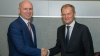 Filip la întrevedere cu Tusk: UE va susține Moldova în realizarea aspirațiilor sale europene