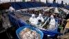 Salată grecească GIGANTICĂ! Bucătarii au folosit remorca unui camion şi căuşul unui tractor (VIDEO)