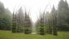 """Idee GENIALĂ! O catedrală din copaci """"creşte"""" în nordul Italiei"""