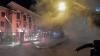 PUBLIKA WORLD: Ambasada Rusiei la Kiev, ATACATĂ cu fumigene și petarde (VIDEO)