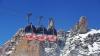 PANICĂ! Aproximativ 110 persoane, blocate în telecabine la 3.800 m altitudine în Alpii francezi