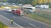 GRAV ACCIDENT pe o autostradă din SUA! Sunt morţi şi răniţi (FOTO)