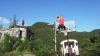 La limita imaginabilului! Un grup de tineri au făcut acrobaţii pe acoperişul unui tren în mişcare (VIDEO)