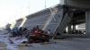 Un pod S-A PRĂBUŞIT în China! Cinci oameni au fost răniţi, iar trei sunt daţi dispăruţi (VIDEO)