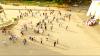 """""""Nu fi indiferent!"""" SPIA  a organizat un flashmob pentru sensibilizarea populaţiei, în centrul Capitalei"""