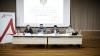 Cum s-a desfăşurat întâlnirea ministrului de Finanţe cu oamenii de afaceri din Moldova (FOTOREPORT)