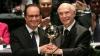 "Francois Hollande a primit premiul ""Omul de stat al anului"", la New York"