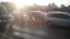 CARAMBOL la Circ! Patru maşini s-au ciocnit în lanţ (FOTO)