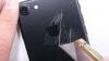 EXPERIMENT: Cât de uşor se zgârie carcasa noului iPhone 7 (VIDEO)