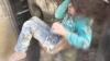 A supraveţuit ca prin minune! Momentul în care o fetiţă vine salvată de sub ruinele unei clădiri (VIDEO)