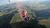 Cel mai mare leagăn din lume, improvizat la înălţimea de 1.800 de metri
