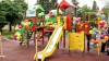 """""""Edelweiss"""" face copilăria mai frumoasă! În oraşul Rezina a fost amenajat un nou teren de joacă"""