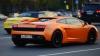 DISTRACŢIE PERICULOASĂ! Copii bogătaşilor ruşi se plimbă prin Moscova cu un Lamborghini cu numărul 666