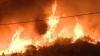 Incendiile de pe insula grecească Thassos fac tot mai multe pagube. Sute de pompieri se luptă cu stihia