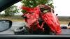 ACCIDENT ÎNGROZITOR! Două persoane au murit după ce un Hummer a intrat într-un camion (FOTO)