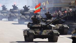 Trupele ruseşti, dislocate ilegal în stânga Nistrului, au efectuat noi exerciții militare
