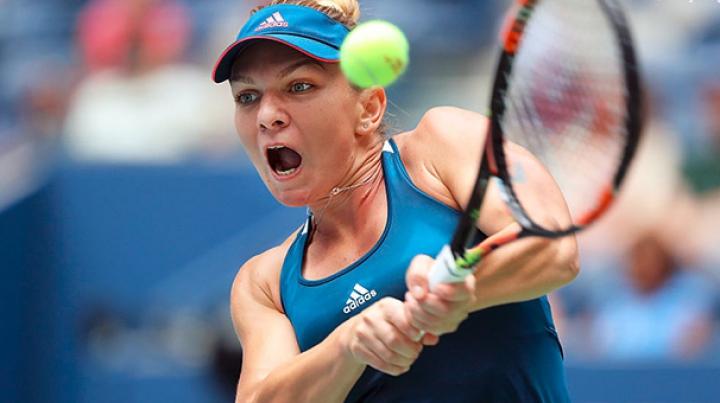 Simona Halep s-a calificat cu emoții în optimile turneului US Open