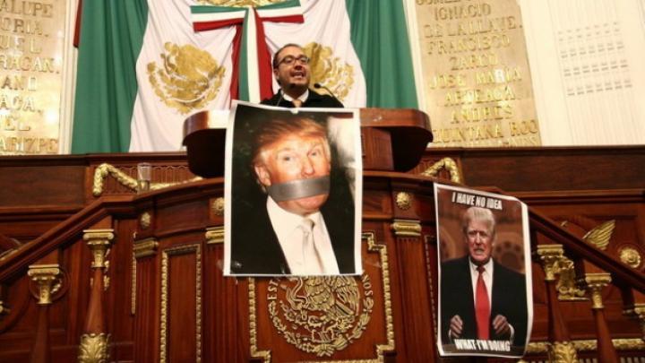 "Legislativul din Mexico City l-a declarat pe Donald Trump ""persona non grata moral"""