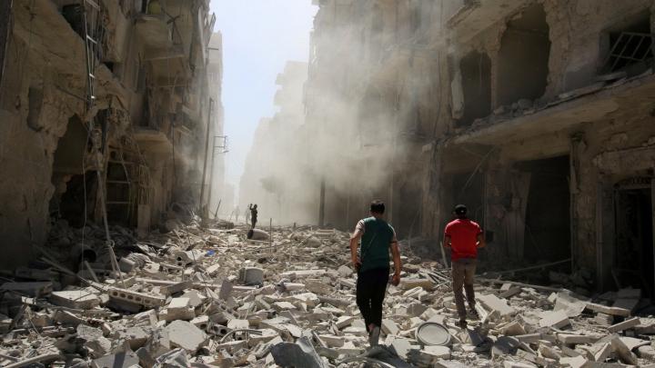 Un nou atac cu BOMBE INTERZISE la nivel internaţional a avut loc în Siria (VIDEO)