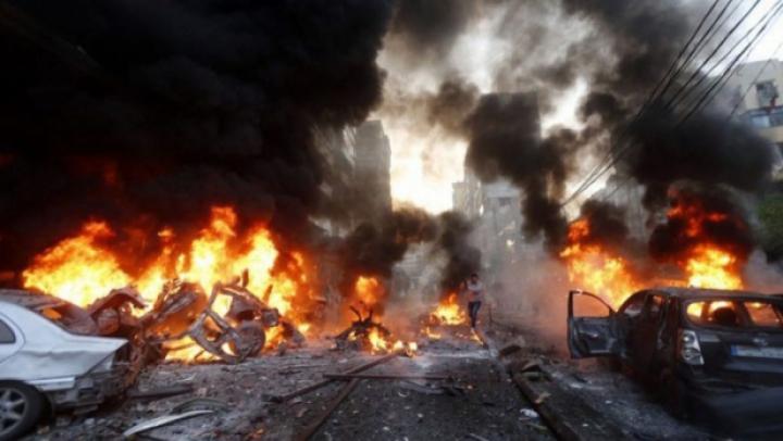 Peste 40 de morţi într-un val de atentate în Siria, revendicate de Statul Islamic