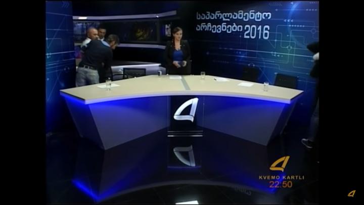 BĂTAIE ÎN TOATĂ REGULA! Doi deputaţi şi-au împărţit pumni şi picioare în direct la TV (VIDEO)