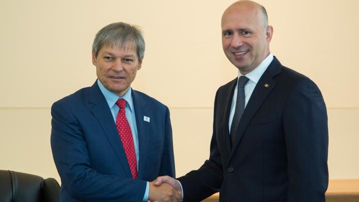 Pavel Filip s-a întâlnit cu Dacian Cioloş la New York. Despre ce au discutat cei doi oficiali