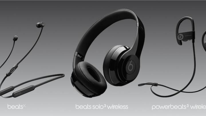 Apple a lansat primele căști Beats wireless: Beats Solo3 Wireless, Powerbeats3 și BeatsX (VIDEO)