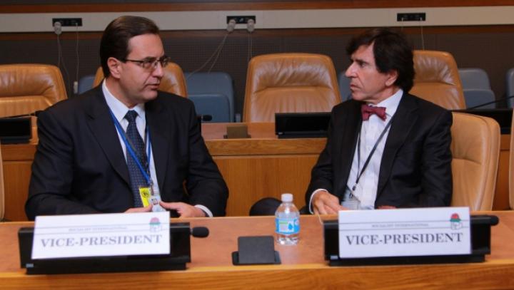 Marian Lupu a solicitat partenerilor internaţionali mai mult sprijin pentru Moldova