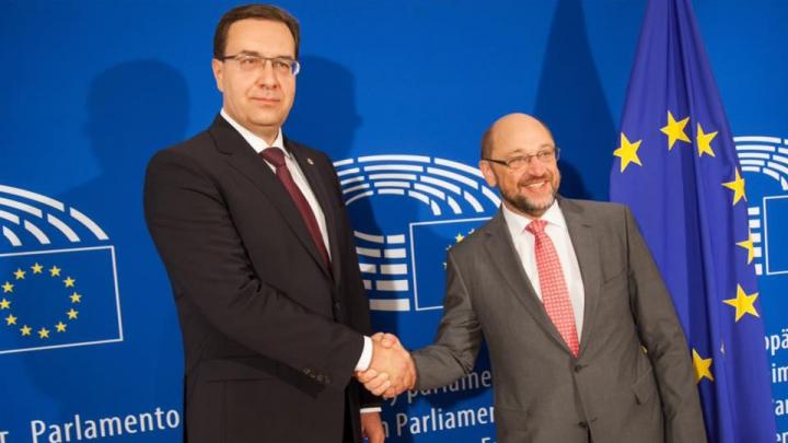"""Marian Lupu: """"Vrem Moldova pe agenda UE, ca problemele și solicitările ei să fie avute în vedere"""""""