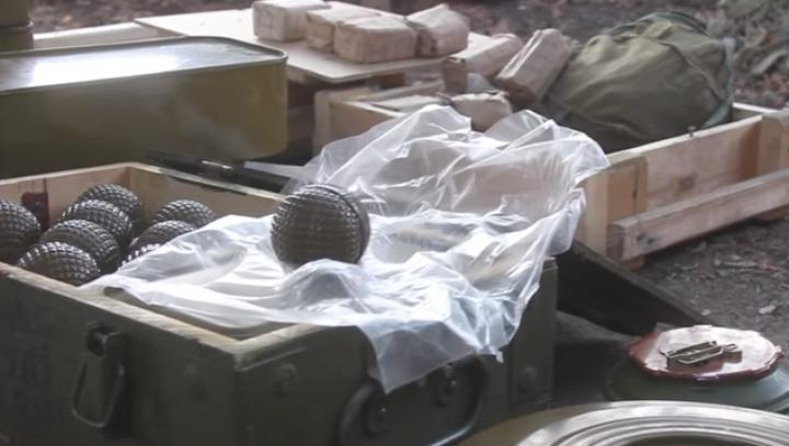 Un depozit cu muniții de origine rusească a fost descoperit în Ucraina