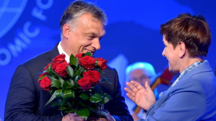 """Viktor Orban, declarat """"Omul Anului"""" la Forumul de la Krynica din Polonia"""