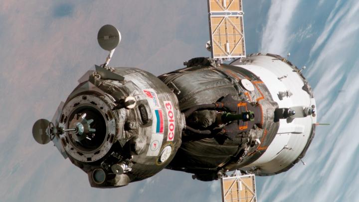 Trei cosmonauţi S-AU ÎNTORS pe Pământ. Nava spațială Soyuz a aterizat în Kazahstan