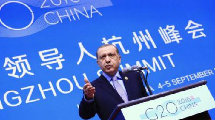 Summitul G20: Turcia propune instituirea unei zone de securitate în Siria