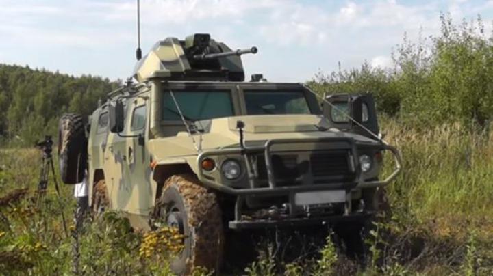 MAŞINA DE RĂZBOI AUTONOMĂ. Ce poate face TERMINATORUL construit în Rusia (VIDEO)