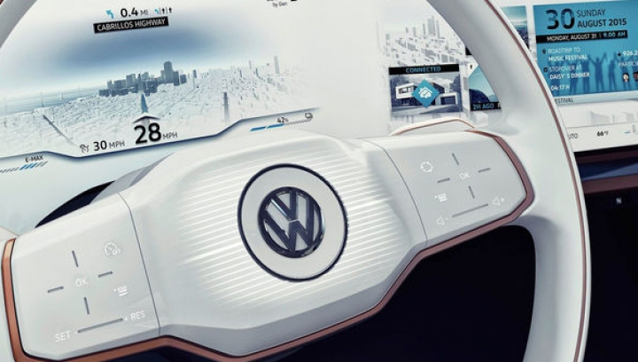 """Nemții pregătesc o mașină """"conectată 24/24"""" care are 400 de kilometri autonomie electrică"""