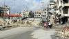 DEVASTATOR! Imagini surprinse în Alep, în partea controlată de rebelii sirieni (VIDEO)