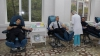 Gest demn de laudă! Zeci de poliţişti au donat sânge pentru micuţii diagnosticaţi cu leucemie (FOTO)