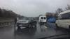 ACCIDENT RUTIER pe traseul Chişinău-Stăuceni. Două maşini, AVARIATE (FOTO)