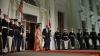 Prima doamnă a Americii, apariție demnă de covorul roșu la ultimul dineu de stat organizat de soții Obama