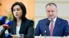 AVERTISMENTUL lui Igor Dodon pentru Maia Sandu, după primul tur al alegerilor prezidenţiale