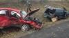 ACCIDENT GRAV pe traseul Chişinău-Sculeni: O persoană a murit, iar trei au ajuns la spital (FOTO)
