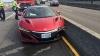 AUTOSTRADA.MD: Primul accident cu Honda NSX! Şoferul dă vina pe o… albină (VIDEO)