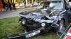 GRAV ACCIDENT în Capitală. Două maşini, făcute ZOB (IMAGINI DE LA FAŢA LOCULUI)