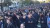 """Bucureşti: Mii de persoane, reunite într-un marş pentru comemorarea victimelor din """"Colectiv"""""""