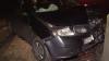 A vrut să depăşească un camion. Un şofer şi-a făcut mașina zob după o manevră nereușită (VIDEO)