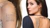 Decizie fără precedent! Angelina îşi scoate toate tatuajele dedicate lui Brad