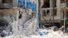Atrocităţi fără sfârşit în Alep. Cel mai mare spital al orașului, distrus în cursul unor raiduri aeriene
