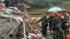 Opt morți, 19 dispăruți și case ÎNGROPATE la 15 metri după ALUNECĂRILE DE TEREN din China