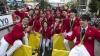 Sărbătoare la Tokyo! Mii de niponi au ieşit în stradă pentru ai felicita pe medaliaţi Jocurilor de la Rio