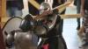 Spectacol medieval de Hramul Chişinăului: Mai mulţi cavaleri s-au luptat cu săbii în centrul Capitalei